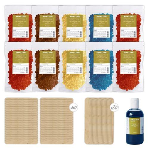 Recharge kit épilation cires gelable Kit Mealiss Refill