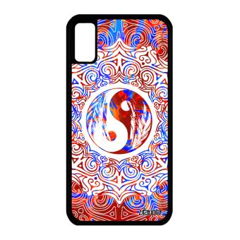 coque iphone x rosace