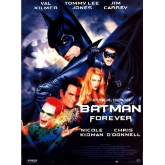 batman forever affiche cinema originale autre poster top prix fnac. Black Bedroom Furniture Sets. Home Design Ideas