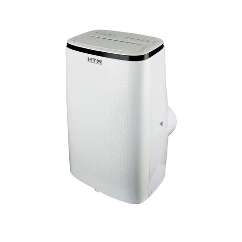 climatiseur mobile réversible 4100w 35m2 blanc - htw-pb-041p31