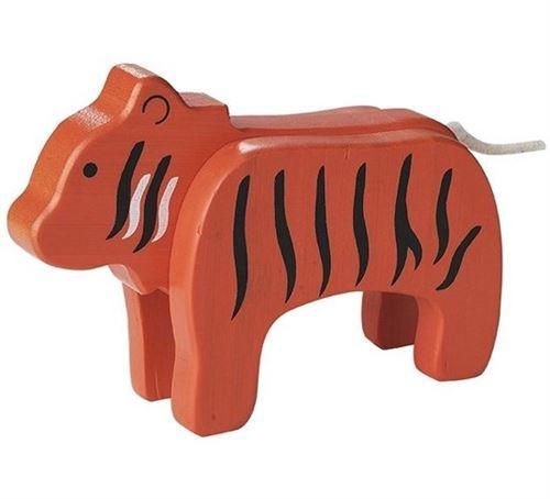 Everearth protagoniste tigre orange 12x9x4 cm