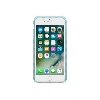 """Belkin - Coque """"SheerForce Pro"""" avec Dos Transparent et Contour Bleu pour iPhone 7 Plus"""