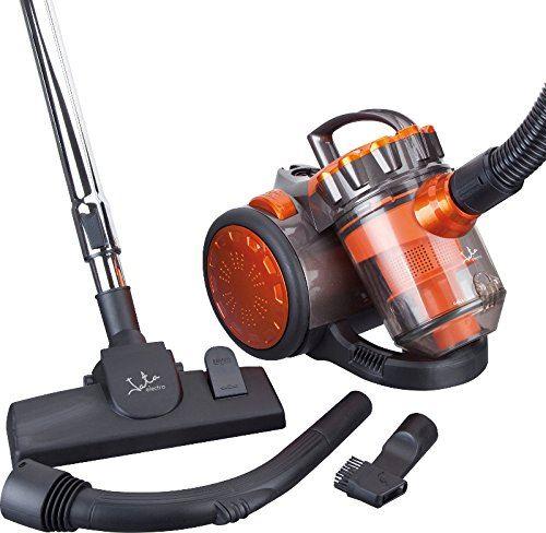 Jata aP999 – Aspirateur Multicylonique sans Sac, filtres anti-ácaro, 700 W, noir et orange [Classe énergétique A]