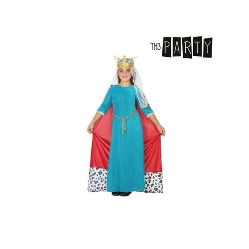 Déguisement pour Enfants Reine médiévale (Taille 7-9 Ans)
