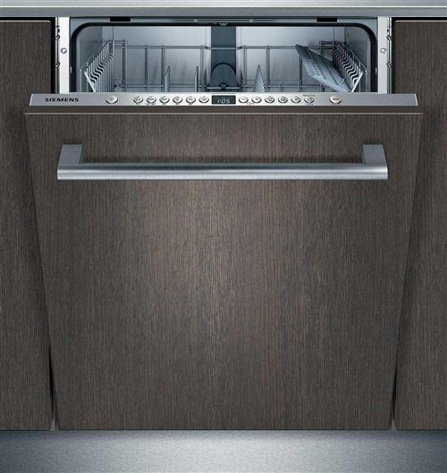 Siemens iQ300 SN636X02GE - Lave-vaisselle - intégrable - Niche - largeur : 60 cm - profondeur : 55 cm - hauteur : 81.5 cm - Inox argent