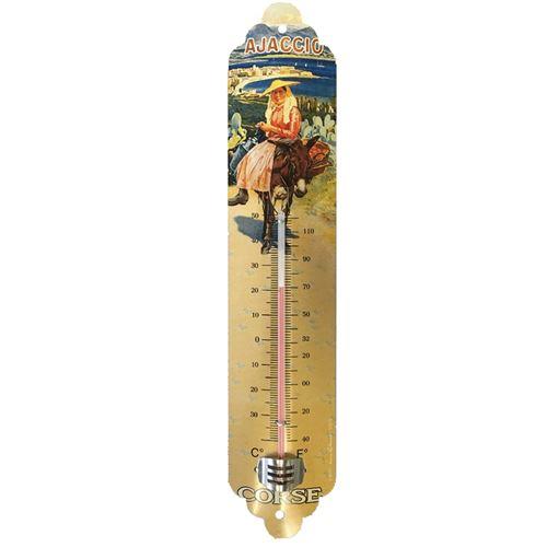 Thermomètre déco Corse 30 cm