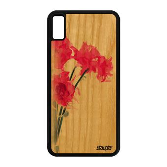 coque silicone fleur iphone xs max
