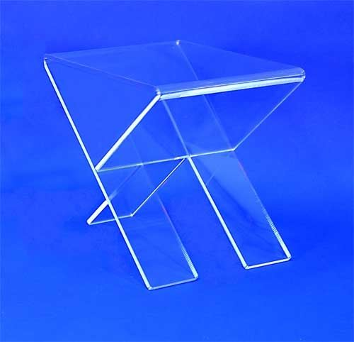 Table d'appoint cristal