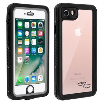Coque iPhone SE 2020/7/8 Waterproof IP68 Antichoc 2m 4smarts Transparent