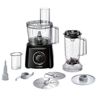 Bosch MultiTalent 3 MCM3201B - keukenmachine - 800 W - zwart
