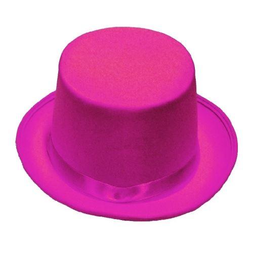 Rubie's chapeau haut-de-forme unisexe rose