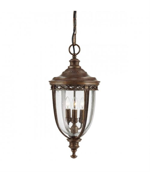 Suspension English Bridle, bronze, grande