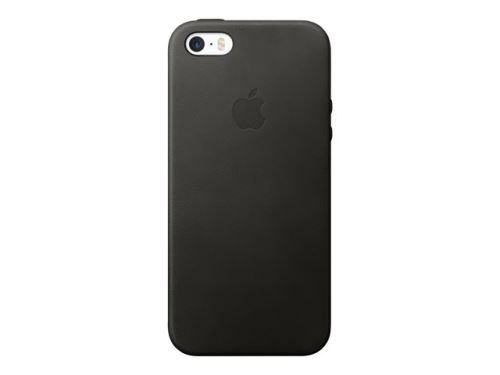 Coque APPLE cuir noir iPhone 5S/SE