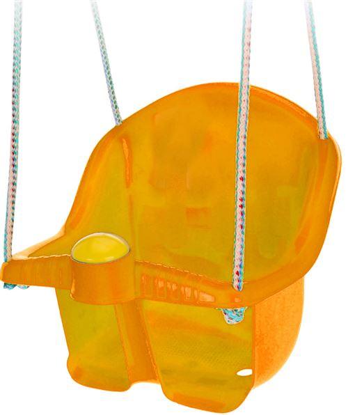 Tender Toys siège balançoire bébé avec corde 30 cm orange
