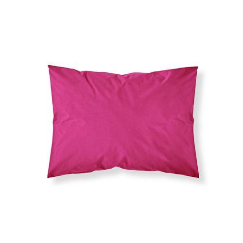 Taie d'oreiller Jus de Myrtille - 100% coton 57 fils - 50 x 70 cm - Rose