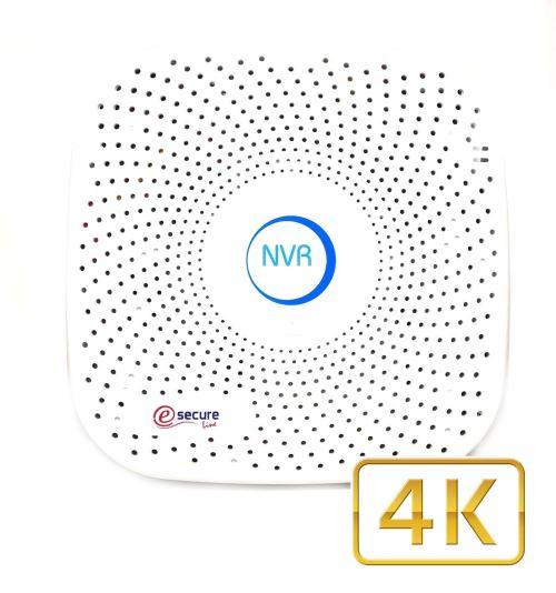 Enregistreur vidéo IP 9 caméras ONVIF 4K H.265