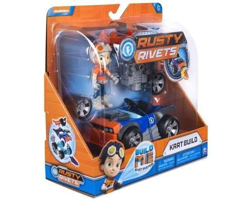 Spin Master Rusty Rivets Vehicle Build Pack, Multicolore, Voiture, 3 année(s), Garçon-Fille, Chine, 1 pièce(s)