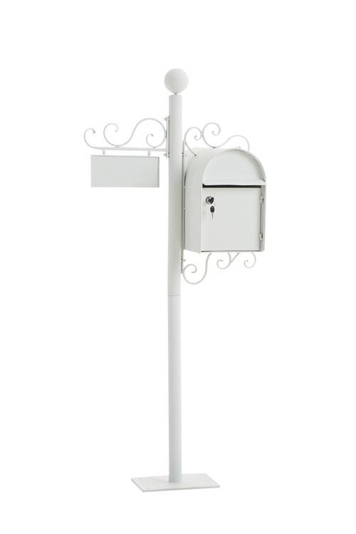 Boîte aux lettres Charlize , Blanc