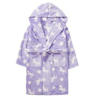 Robe De Chambre Fille Violette Licorne 11 12 Ans Autres Vetements Achat Prix Fnac