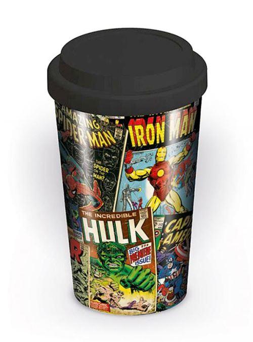 Gobelet à emporter Marvel Couvertures de bédés rétro Coffee to go Mug
