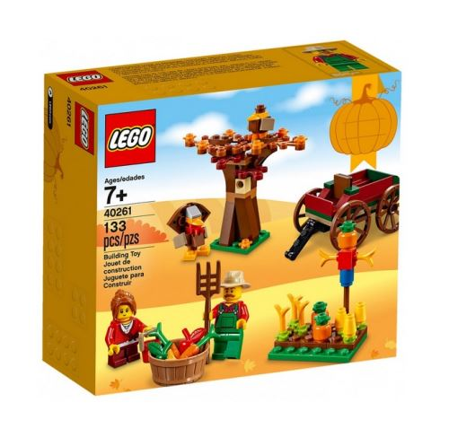 Lego edition speciale 40261 le jardin et la recolte des legumes d'automne