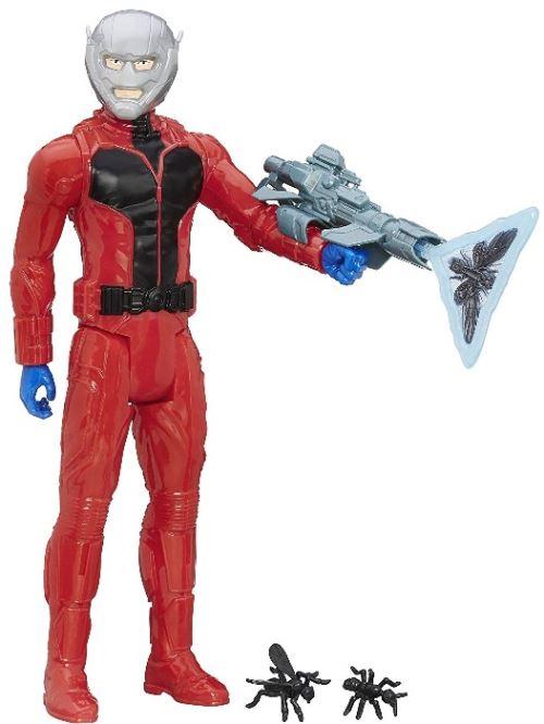 Figurine ant-man lance des fourmis 30 cm - accessoires - avengers luxe - super heros