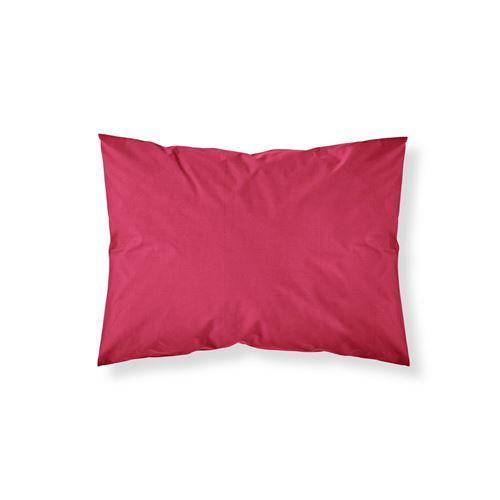 Taie d'oreiller Pomme d'Amour - 100% coton 57 fils - 50 x 70 cm - Rouge