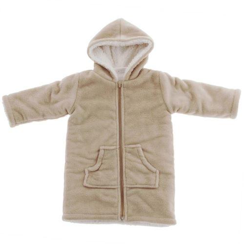 Peignoir Robe De Chambre Enfant Polaire Zipper Ficelle 06