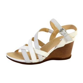 Sandales à talons Geox dorotha blanc Geox, Achat Vente de