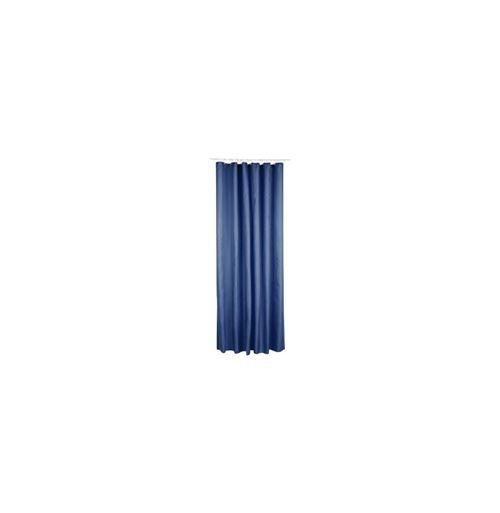 Rideau de douche en polyester - 180 x 200 cm - Bleu