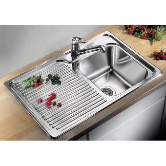 Lavabo de cuisine carr/é Evier de cuisine acier inoxydable 40 cm 1 bac