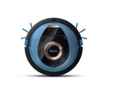 Philips SmartPro Compact Aspirateur Robot fc8778/01 – Aspirateur robotizadas (Bleu, 62 dB, 120 min, 14,8 V, 4 h, 0,6 W)