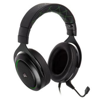 Micro-casque Gaming Stéréo Corsair HS50 Noir et Vert