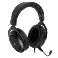 Corsair HS50 Gaming Hoofdtelefoon met micro Zwart en Groen