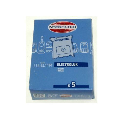 Sacs if 115 el11m aspirateur (x5) pour aspirateur hoover - g79039