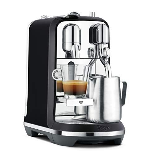 Sage appliances sne800btr the creatista plus machine à expresso noir mat