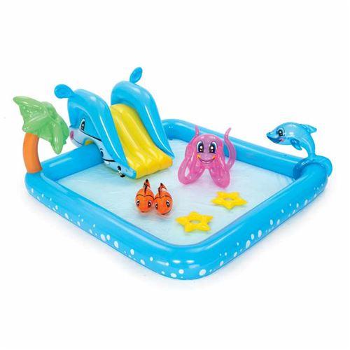 Bestway - Piscine Gonflable pour Enfants Bestway 53052 Aquarium Jeu d'eau