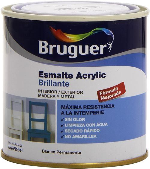 Bruguer 5160638 Vernis acrylique brillant Blanc permanent