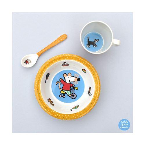 Set petit déjeuner Mimi Petit Jour Paris Multicolore