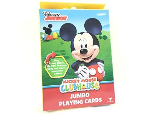 Cartes à jouer Disney Junior Mickey Mouse Club House JUMBO