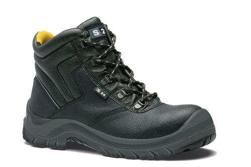 Chaussures de sécurité S24 BOA S3 - Cuir grainé noir - Taille 42 - 5132