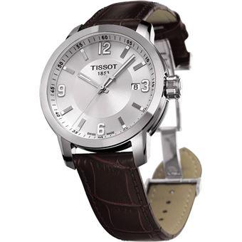 bracelet cuir montre tissot
