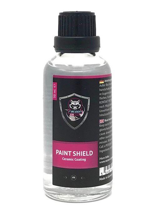 Racoon protection de la laque Couche Paint Shieldcéramique 50 ml noir/rose