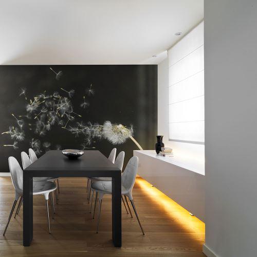 200x154 Papier peint Pissenlits Fleurs Moderne Graines de dent