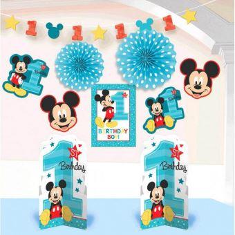 Fun Mickey Mouse Comme Une Seule Partie Kit De Decoration Chambre