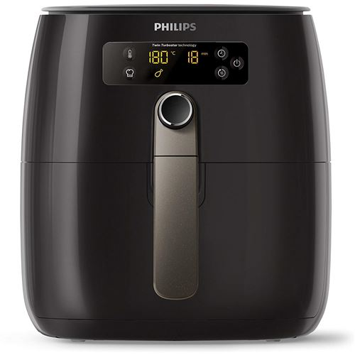 Friteuse Philips Airfryer Twin Turbo Star Avance Collection 1500 W