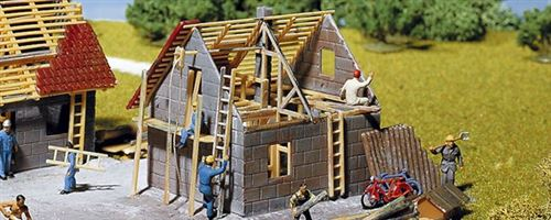 Maison en construction Faller HO
