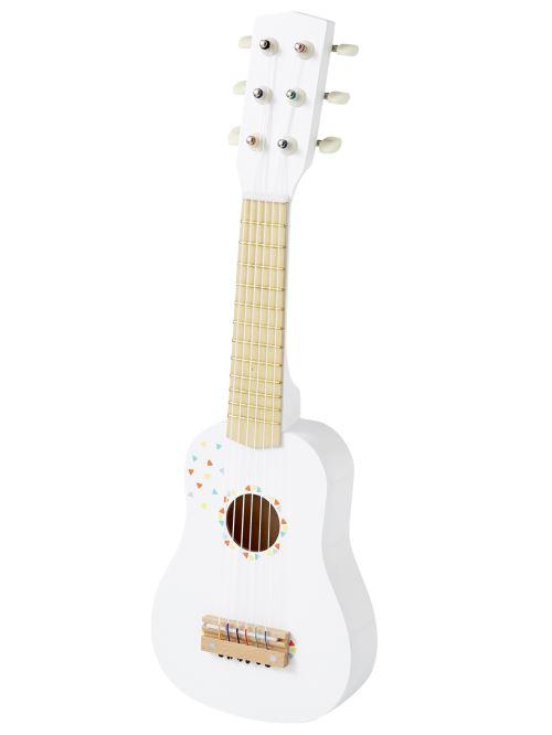 VERTBAUDET Guitare en bois Blanc TU