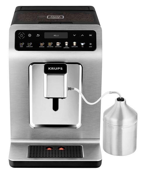 Krups EA894T Evidence Plus Machine à café automatique Titanium-Metallic 1450