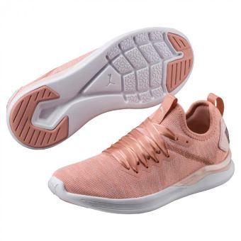 chaussure femme puma rose